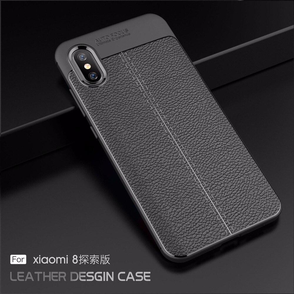 For Xiaomi Mi 8 Explorer Case Armor Rubber Phone Case For Xiaomi Mi 8 Explorer Back Cover For Xiaomi Mi8 explorer edition Fundas
