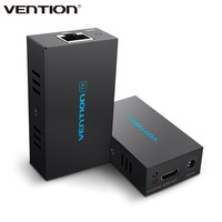 VEnTIOn AFI Series HDMI Cable Extender Black 1080p 1080i 720p Network Cable Signal Extender Transmitter Receiver Sender Adapter