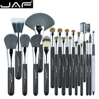 JAF 20 Pcs Cosmetics Face Blending Brush Tool Soft Hair Brushes Kit Women Makeup Tool Kits