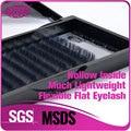 De alta Qualidade Do Falso Vison Cílios Postiços Maquiagem elipse Lashes Falso Pestana Extensão Dos Cílios 8-12mm
