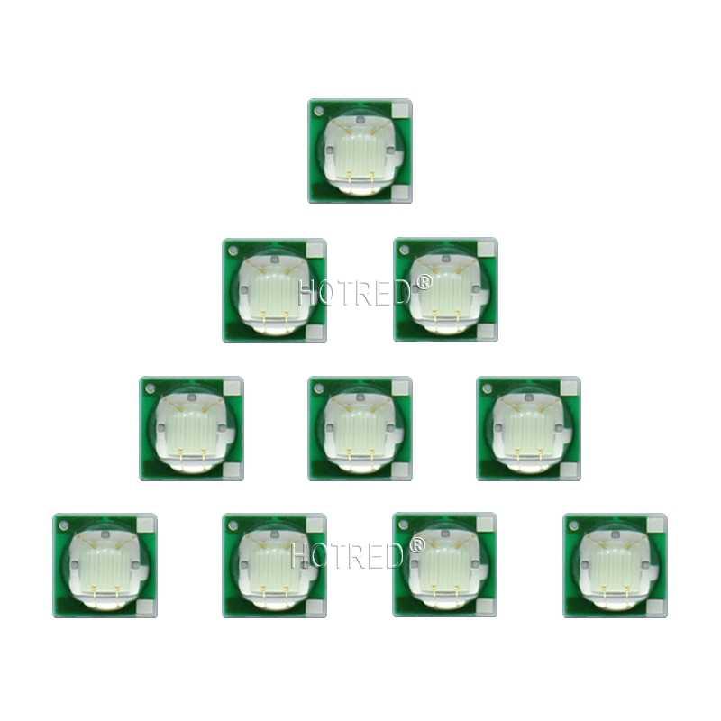 10 pcs 3 W 490nm-495nm Cyan Băng Màu Xanh 3535 Epileds Điện Cao LED Light Emitter Diode trên 16mm/20mm Nhôm PCB