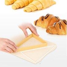 Plastic Croissant Kaiser Roll Maker Adjustable Cake Bread Baking Tools Donut Cookie Pastry Bake