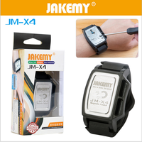 JAKEMY JM X4 Magnetizer Demagnetizer Tool Powerful Magnetic Wrist Band Wristband Hold Small Metal Nut Screws