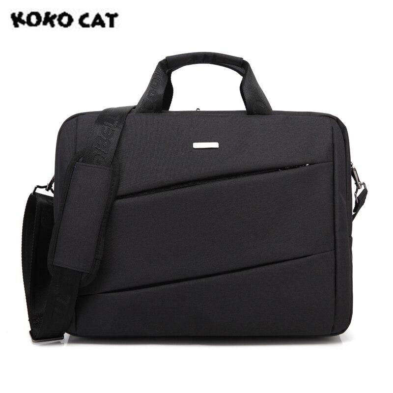 KOKOCAT Waterproof Crushproof 15.6 inch Notebook Handbag Computer Laptop Bag for Men Women Briefcase Casual Messenge Bag 5 Color цена 2017