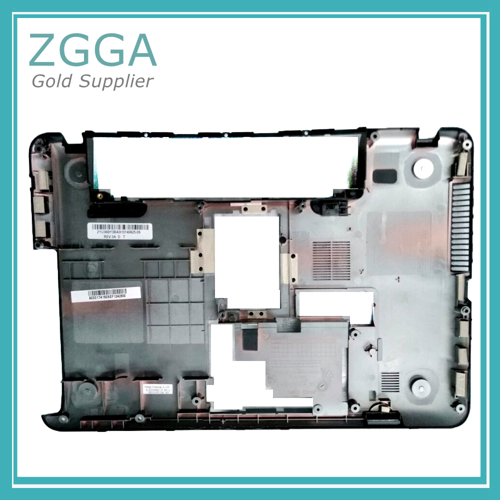 Original New Laptop Base For Toshiba C800 C805 C805D Bottom Chassis Cover Lower Case Shell Black