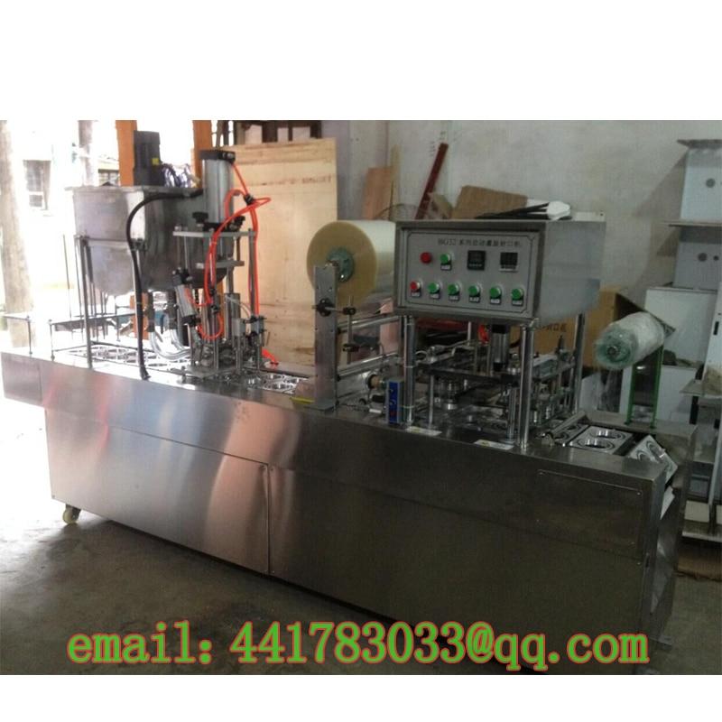 BG - 32 automatisk automatisk kopptätare Yoghurt automatisk påfyllningstätning automatisk kopp tätare Bricka tätare Rostfritt stål
