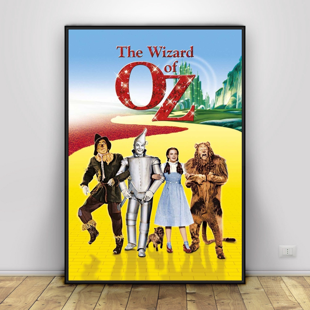 The Wizard Of Oz Art Silk Poster Home Decor 12x18 24X36inch-in ...