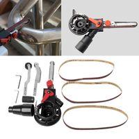 Mini DIY Sander Sanding Belt Head Adapter For M10/M14 Electric Drill Angle Grinder Machine Sharpener Engraver Abrasive Tools