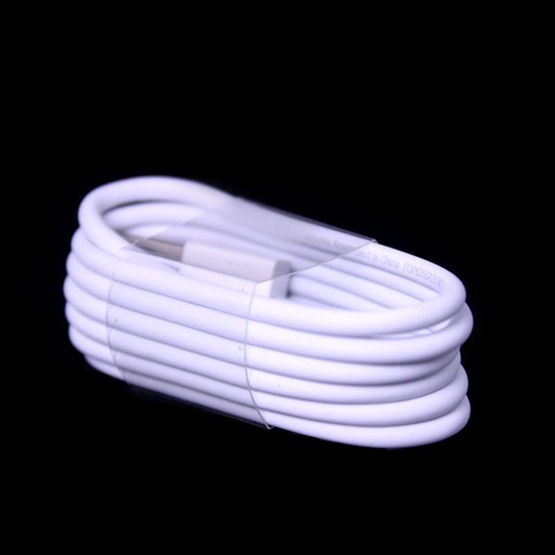 imágenes para 1000 unids/lote OD 3.0mm de Espesor Con Lámina de $ number pines del Cable del cargador de datos usb línea para el teléfono móvil 5 5S 6 6 s 7 7 plus para laptop