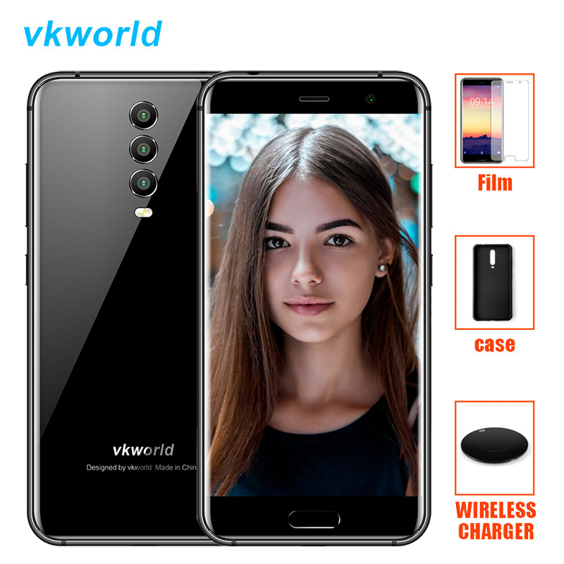 Vkworld K1 21.0MP 3 Cameras Smartphone 5.2 Inch 1920*1080 Android 8.1 Oreo Octa Core 4GB+64GB Quick Charge Mobile Phone 4040mAh smartphone