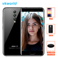 Vkworld K1 21.0MP 3 Cameras Smartphone 5.2 Inch 1920*1080 Android 8.1 Oreo Octa Core 4GB+64GB Quick Charge Mobile Phone 4040mAh