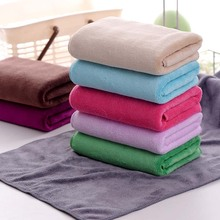 Vieruodis Bathroom Towel Super Absorbent Soft And Quick-drying Sport Gym Hand Cotton Coral Fleece Travel Square Towels