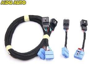 Image 1 - Für VW Golf 7 R Montage Golf 7,5 licht 2017 Fließende wasser LED Dynamische Sequentielle rücklicht kabel kabelbaum adapter