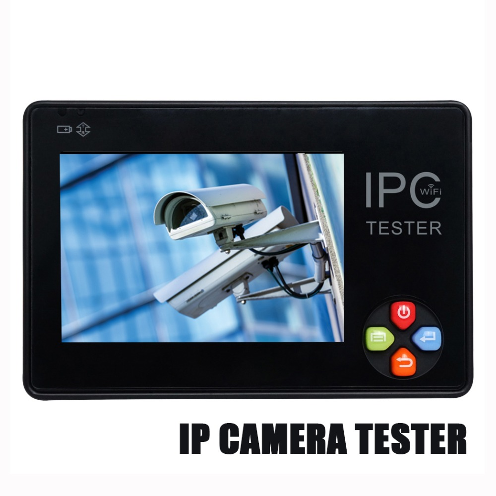 Güvenlik ve Koruma'ten CCTV Monitör ve Ekran'de IPC1600 artı yeni 3.5 inç dokunmatik ekran IP CCTV test cihazı monitörü IP kamera HD H.265 Analog kamera test 1080P ONVIF PTZ wifi 12V1 title=
