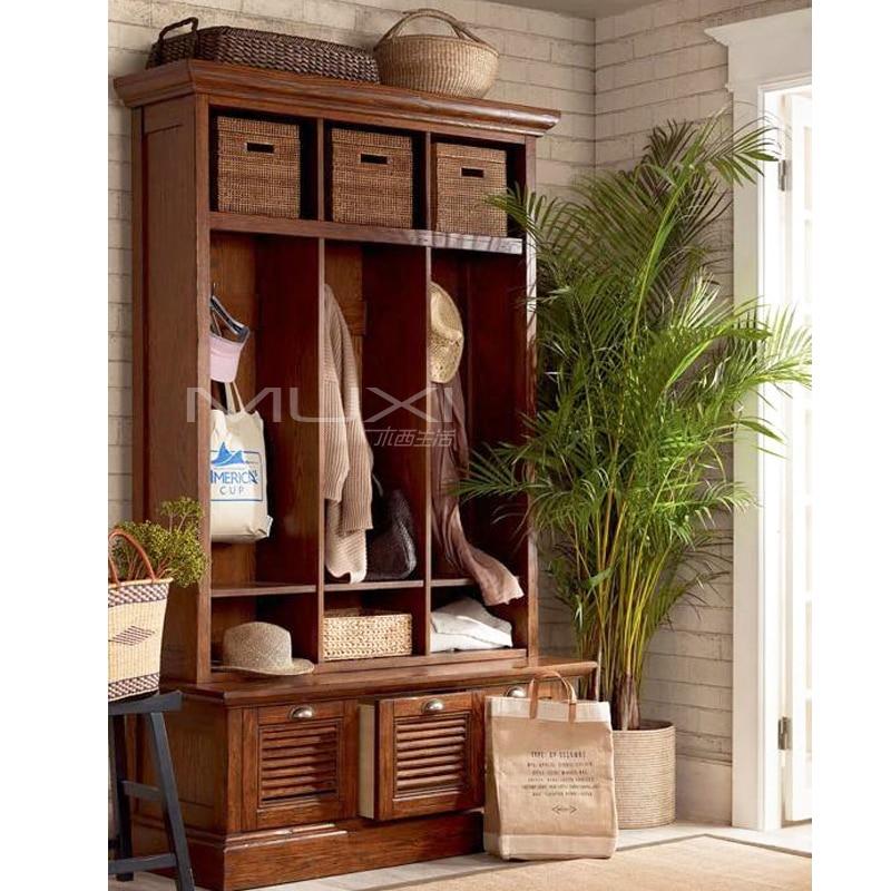 Imports Of American White Oak Living Room Furniture Hat Debris Entrance Hall Cabinet Shoe