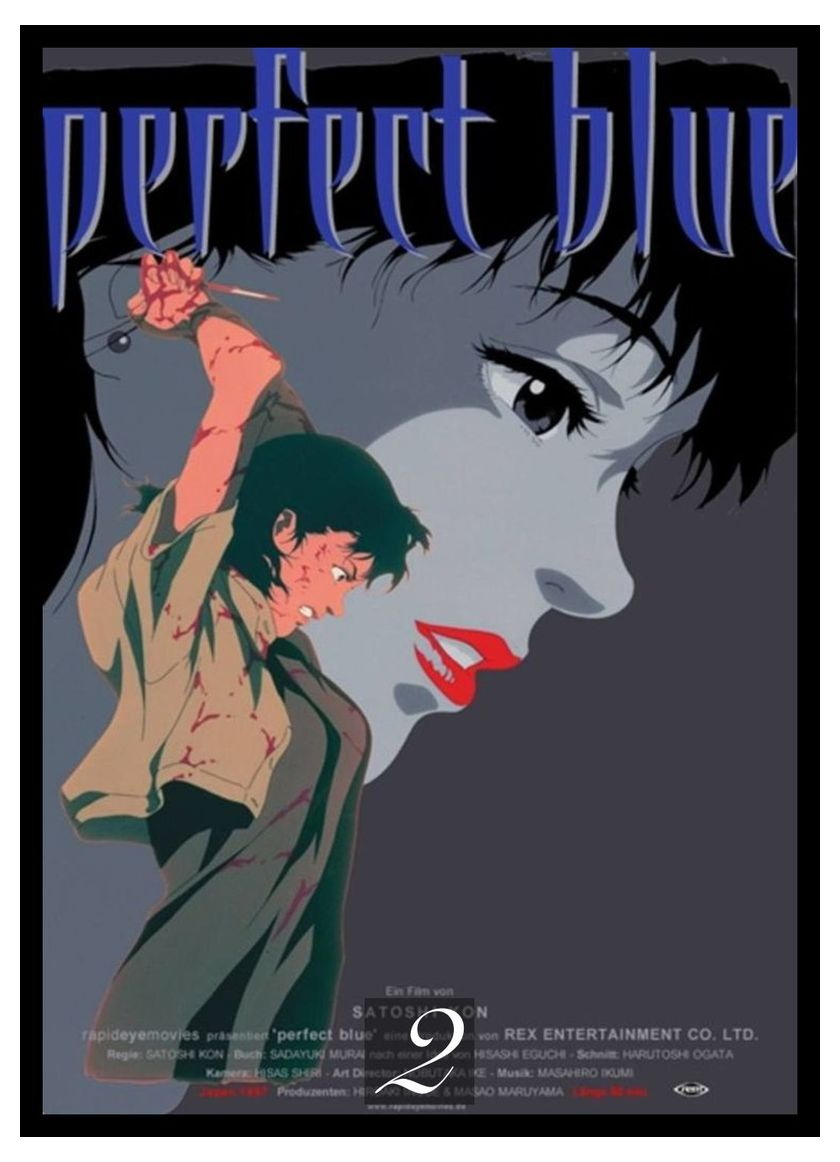 Perfect Blue Movie Home Decorative Painting White Kraft Paper Poster 42x30cm Painting Calligraphy Aliexpress