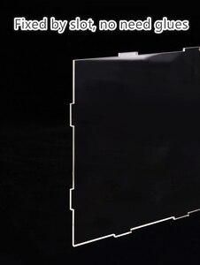Image 4 - Robotime شفاف غطاء غبار صندوق عرض ل بيت الدمية 3 مللي متر سماكة لوح أكريليك لعرض غرفة الغبار منع برهان DG01Z