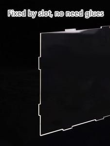 Image 4 - Robotime שקוף אבק כיסוי תצוגת תיבת עבור בית בובות 3mm עובי אקריליק לוח עבור להראות חדר מניעת אבק הוכחה DG01Z