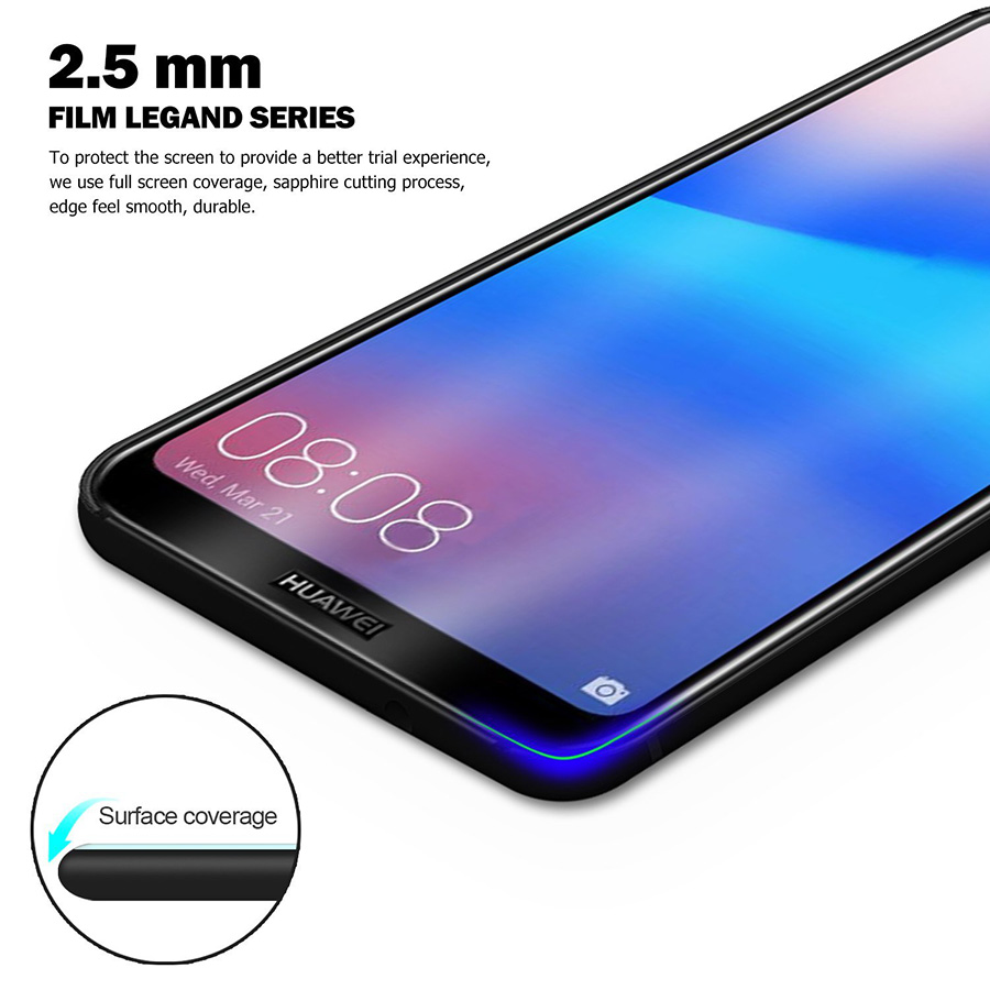 Tempered Glass for Huawei P30 Lite Screen Protector for Huawei Mate 20 Lite P20 Pro Protective Glass P20Lite P 30 P30Lite light in Phone Screen Protectors from Cellphones Telecommunications