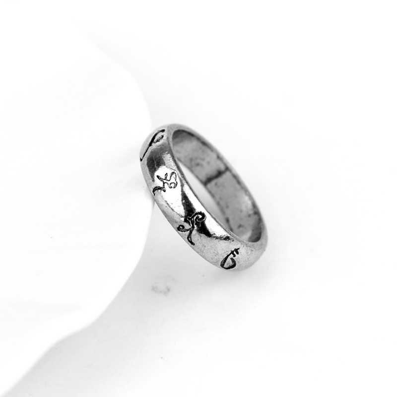 Фильм ювелирные изделия кольцо The mmoral Instru мужчины ts город ангельские кости сила Руна Сумеречные охотники Gaes мужчины женщины косплей рождественский подарок