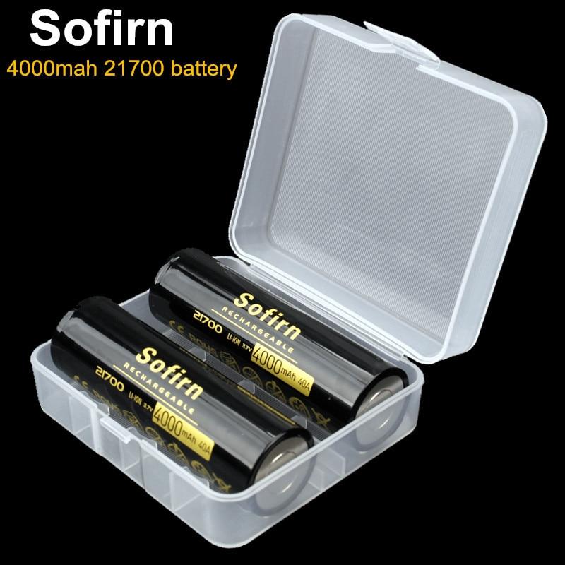 Sofirn 21700 Battery 4000mah…
