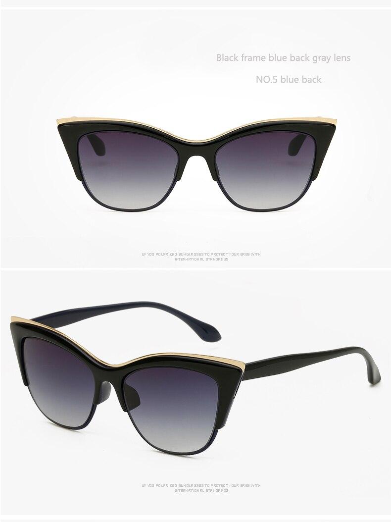 Lunettes de soleil modèle Vintage Cat 50-60 modèles A Choice (noir, transparent)