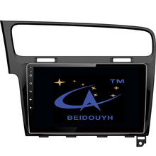 """BEIDOUYH 10.2"""" Android Car Radio GPS for Volkswagen Golf 7 with can-bus/SWC/wifi/DVR car audio stereo Multimedia navigators"""