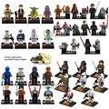 Mini soldados clon stormtrooper maestro yoda star wars figuras de juguete de acción del bloque hueco juguetes compatibles con lego