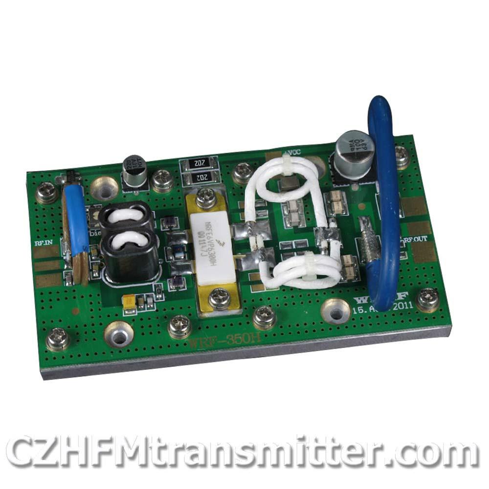 FMUSER WRF-350A 300w 350 Watt RF broadband amplifier, FM (75MHz-110MHz) cawanerl 2 pieces car styling 2in1 led fog light daytime running lamp drl white 5000k 12v for honda fit 2015 onwards