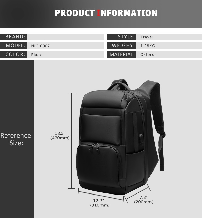 anti-theft laptop backpack - water resistant, usb port, luggage strap Anti-theft Laptop Backpack – Water Resistant, USB Port, Luggage Strap HTB1FigLafvsK1Rjy0Fiq6zwtXXal