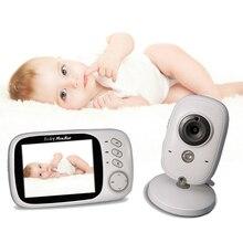 Няня видео 2,4 GHz 3,2 дюймов ЖК-дисплей беспроводной детский монитор видео с ночным видением детский телефон аудио монитор электронная няня