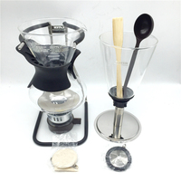Syphon Pot 5 cup 600ml New Multifunction siphon coffee pot / glass siphon pot filter coffee Syphon Applicable induction cooker