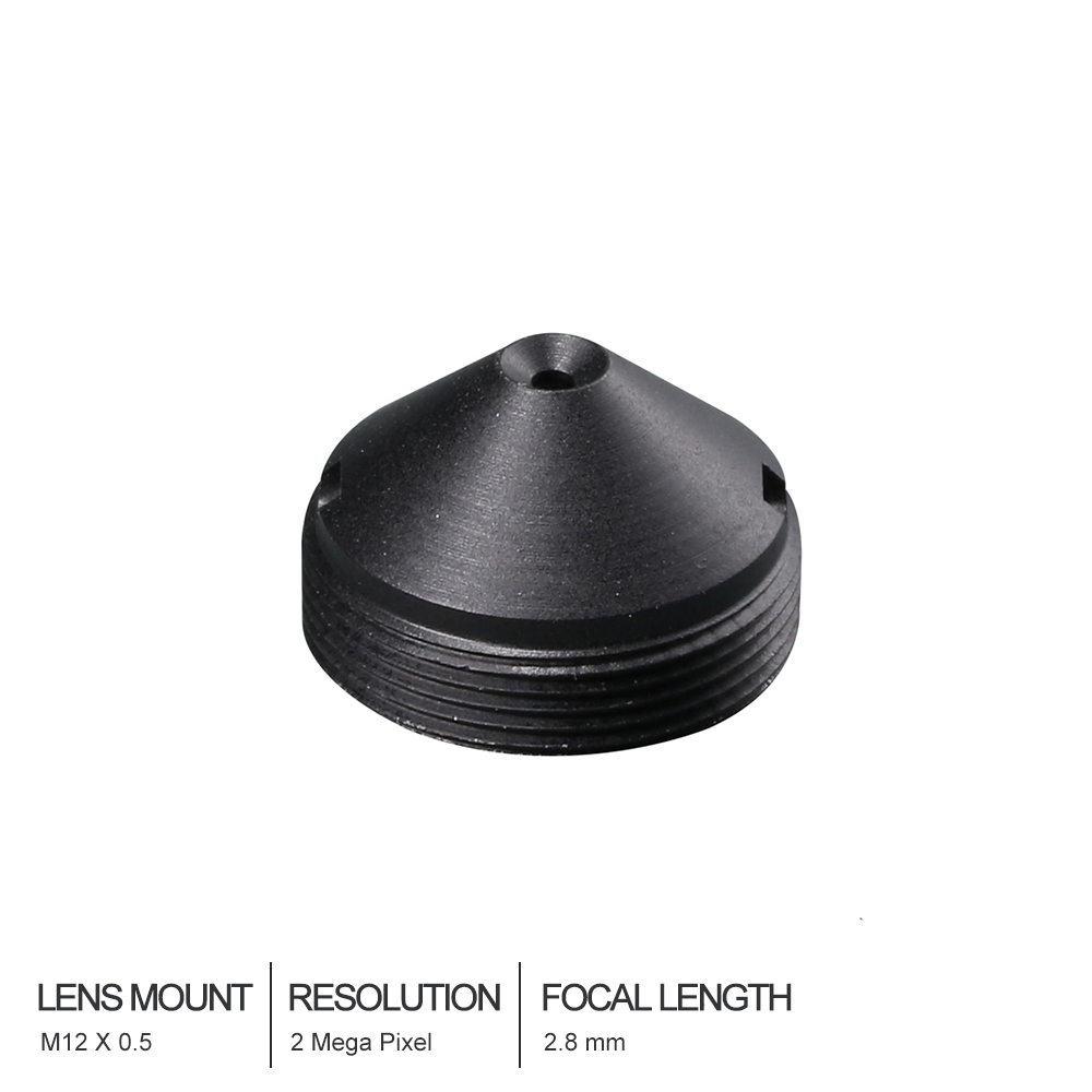 HD cctv <font><b>lens</b></font> Pinhole <font><b>2.8MM</b></font> M12*0.5 Mount 1/3