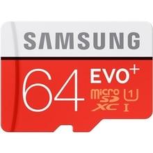 SAMSUNG EVO + Micro SD 32G Class10 Cartão De Memória SDHC 80 mb/s Grau UHS-I C10 TF/Cartões SD Trans Flash SDXC de 64 GB 128 GB frete grátis