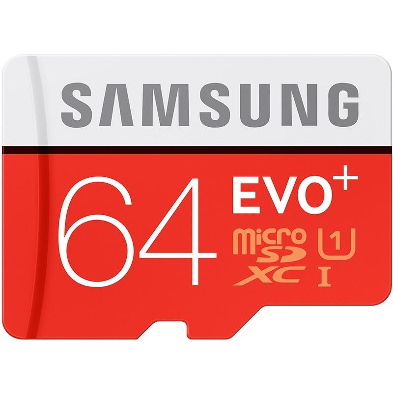 SAMSUNG EVO + Micro SD 32G SDHC 80 MB/S grado Class10 tarjeta de memoria C10 UHS-I TF/tarjetas SD Trans Flash SDXC de 64 GB 128 GB para el envío