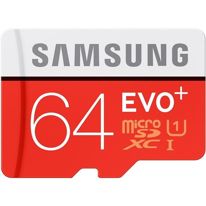 SAMSUNG EVO + Micro SD 32G Class10 Cartão De Memória SDHC 80 mb/s Grau UHS-I C10 TF/Cartões SD Trans Flash SDXC de 64 GB 128 GB para o transporte