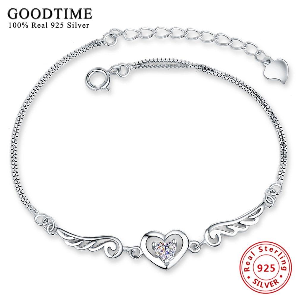 New 925 Sterling Silver Jewelry Bracele 925 Silver Bracelets for Women Silver 925 Jewelry Cubic Zirconia Charm Bracelets Bangles браслет 925 h03 bracelets bangles