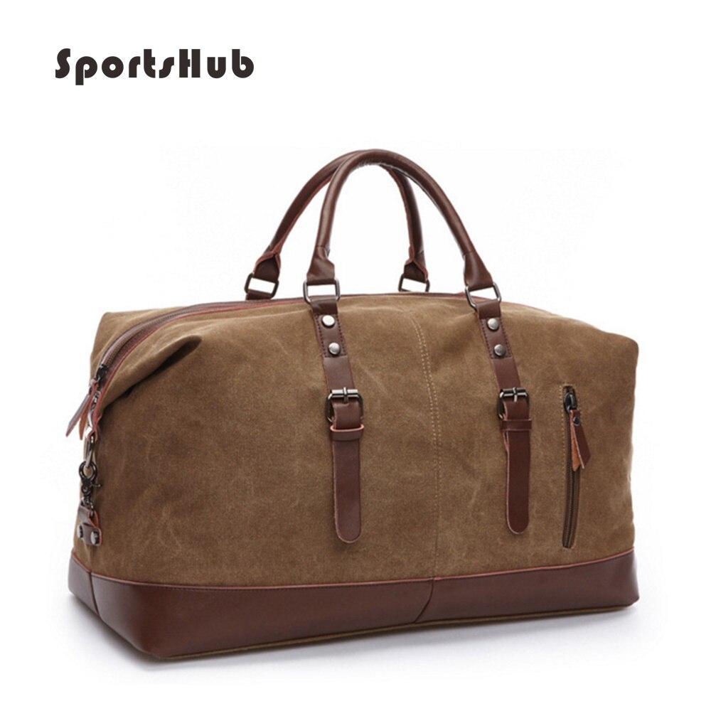 SPORTSHUB fermement toile hommes sacs de sport sac de sport sac à main Designer de sport sacs de Fitness étui de voyage sac à bandoulière d'entraînement SB0015
