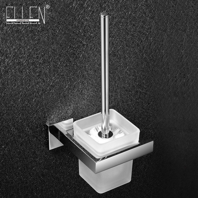 Bathroom toilet brush holder set wall mounted square stainless steel toilet brush holder and glass cup carl zeiss touit 1 8 32