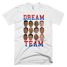 Dream Team Graphic T-Shirt Women Tumblr Hipster Trucker Shirt Workout Tee Funny Tops
