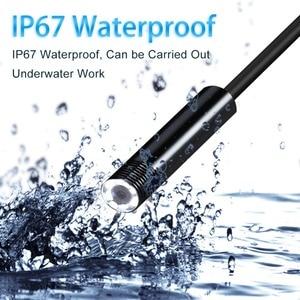 Image 3 - 2019 新加入 3 1 で半硬質 usb ボアスコープ検査カメラ 2.0MP IP67 防水ヘビカメラ 8 led アンドロイドウィンドウズ