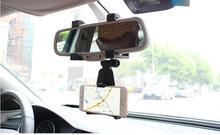 360 graus suporte suporte do telefone do carro universal espelho retrovisor do carro montar titular suporte cradle para iphone para samsung mobile phone