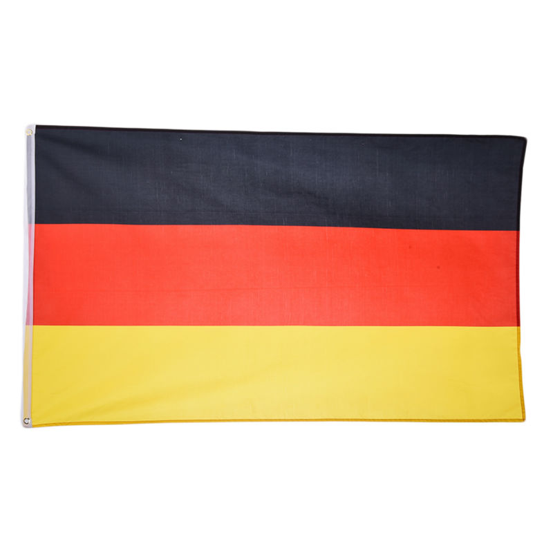 German flag 90 150cm indoor outdoor home decor national for Decor nation
