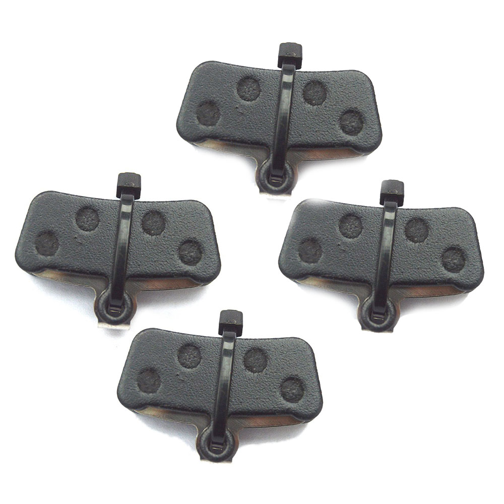 Catazer Semi Metal Bicycle Disc Brake Pads for Avid / Sram Xo Xo Trail with Spring 4 Pairs