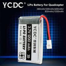1x 380-1200mAh 3.7V 25C 1S Spare Li-Po Battery For SYMA X5C-1 X5SC GOOLRC T37 Top Sale RC Quadcopter Drone Battery for SYMA imlight t37 40