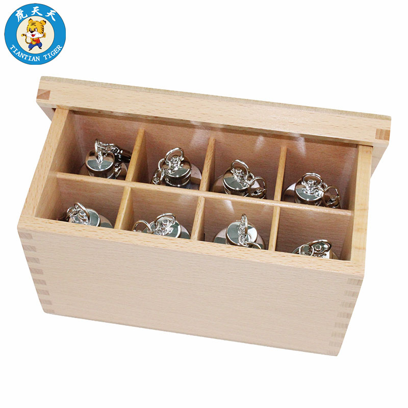 Montessori Baby Sensory Toys Kids Early Education Preschool Training Toys Thermic Bottles 4 Pairs With Box new wooden montessori family version brown stair width 0 7 cm to 7 cm early childhood education preschool training baby gifts
