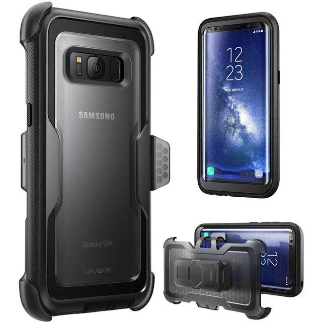Dành cho Samsung Galaxy Samsung Galaxy S8Plus Ốp Lưng I Blason Armorbox Toàn Cơ Thể Nặng Nề Làm Nhiệm Vụ Bảo Vệ Giảm Sốc Bao Da MÀ KHÔNG CÓ Màn Hình tấm bảo vệ