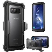 Для Samsung Galaxy S8Plus Чехол i Blason Armorbox полноразмерный сверхпрочный защитный противоударный чехол без защитной пленки для экрана
