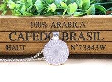 Vintage henna yoga pendant necklaces handmade India jewelry bloom mandala lotus necklace om symbol buddhism bijoux