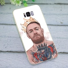 Case for Samsung Galaxy J3 2016 Conor McGregor Phone Cover for J5 J6 J7 A5 2017 A6 A7 2018 A8 A9 A10 A20 A30 A40 A50 A70 стоимость